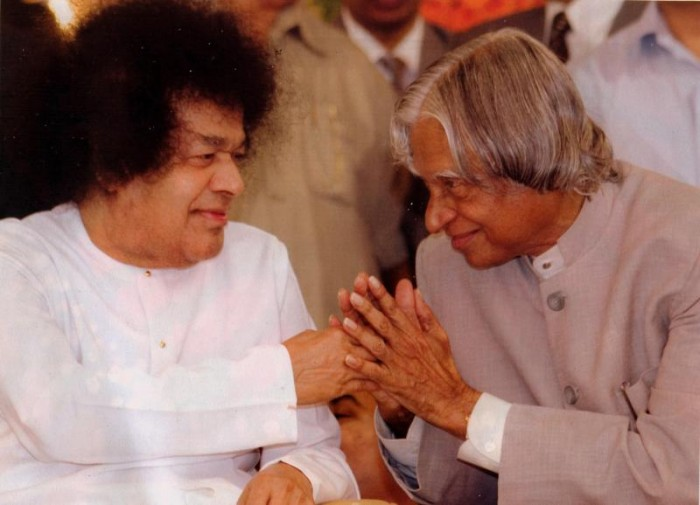 Sai and President Kalam